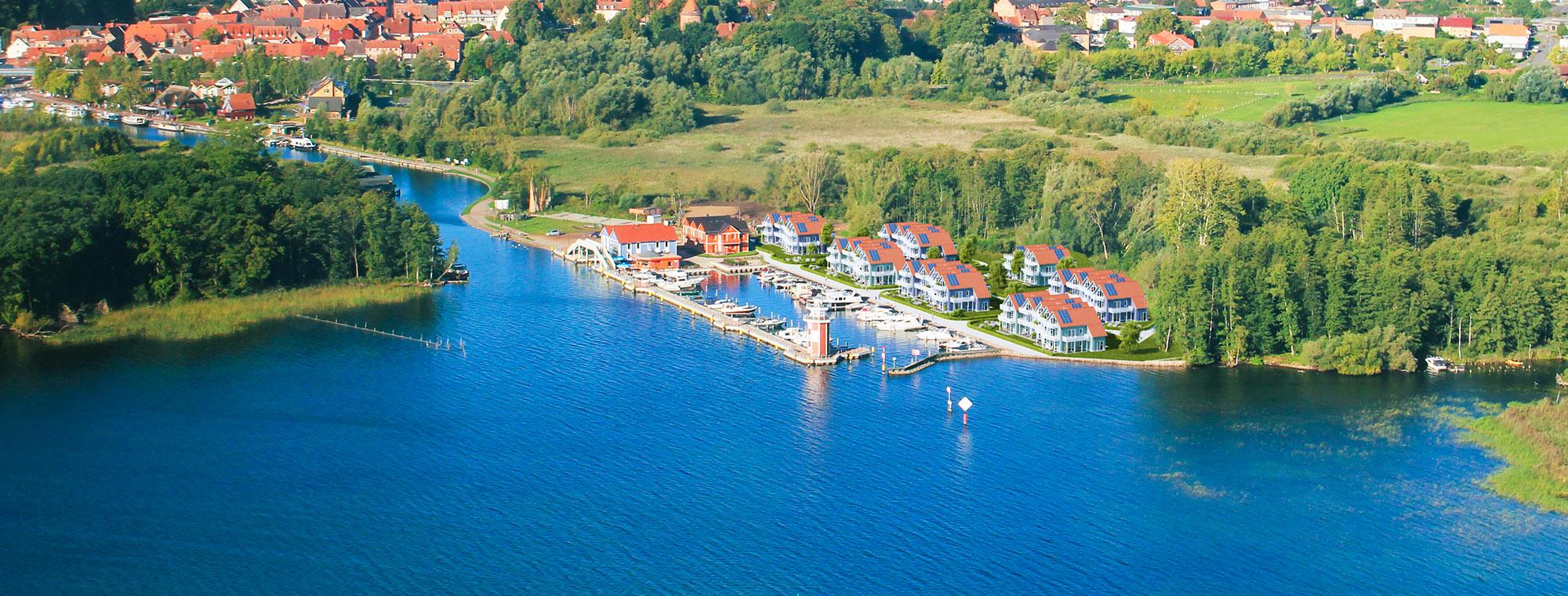 Projekt Hafendorf mit Meer Blick